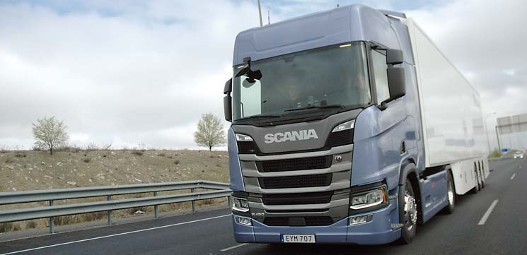 camion scania450