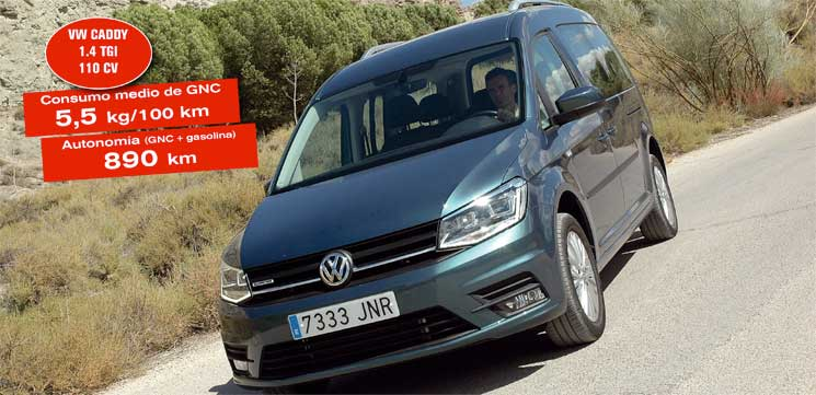 volkswagen caddy gas