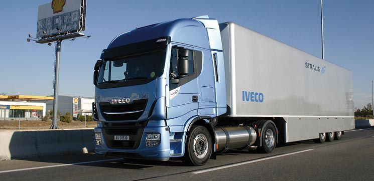 iveco stralis gas